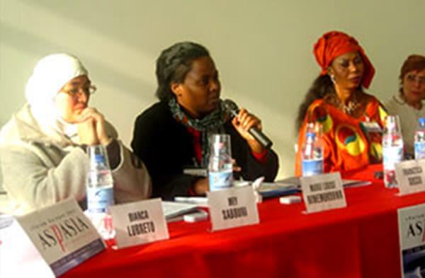 Aspasia Forum Europeo 2003 delle pari opportunità
