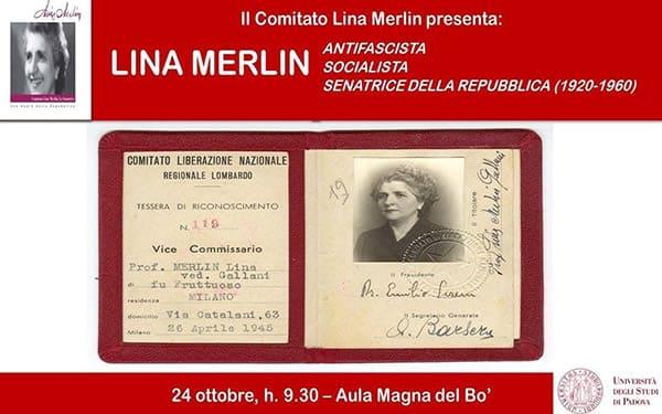 Lina Merlin tessera di riconoscimento